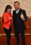 mi amiga Gloria Muñiz conmigo